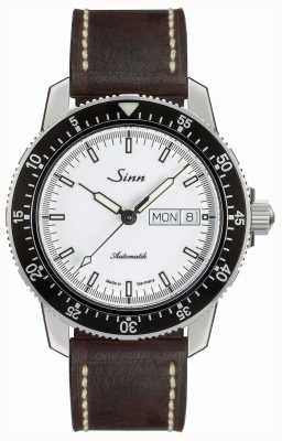 Sinn 104 st经典飞行员手表棕色复古皮革 104.012 BROWN VINTAGE LEATHER