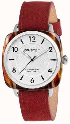 Briston Clubmaster别致的蓝色表带白色表盘 18536.SA.BE.2G.LNR