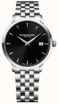 Raymond Weil 男士toccata不锈钢黑色表盘 5488-ST-20001