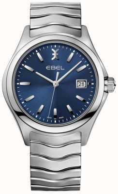 EBEL 男式蓝色表盘不锈钢手镯日期显示 1216238