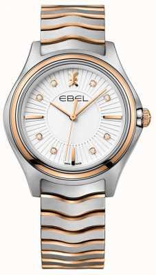 EBEL 女士钻石波浪sunray拨号两音玫瑰金 1216306