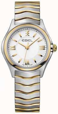 EBEL 女式波白色表盘双色金银手镯 1216375