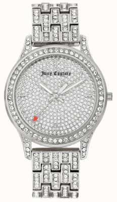 Juicy Couture 女式银色不锈钢手链 JC-1045PVSV