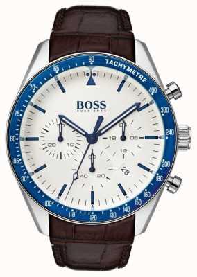 Hugo Boss 男士奖杯白色表盘 1513629