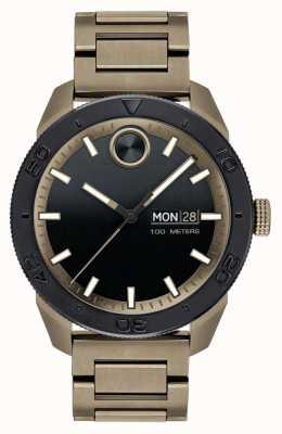 Movado 男士大胆的离子镀运动手链 3600511