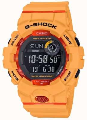 Casio G-squad橙色数字蓝牙步跟踪器 GBD-800-4ER