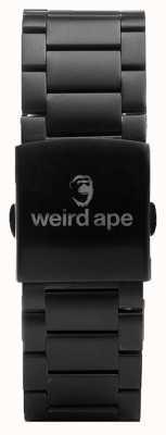 Weird Ape 黑色链接20毫米手链 ST01-000002