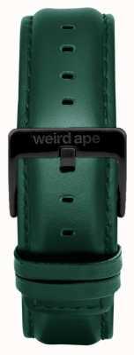 Weird Ape 深青色皮革20毫米表带黑色搭扣 ST01-000075