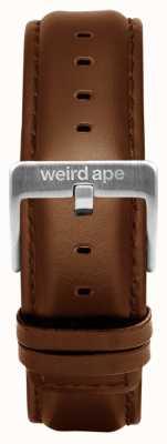 Weird Ape 橡木皮革20毫米表带银色搭扣 ST01-000099