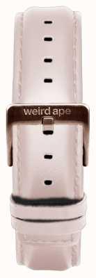 Weird Ape 裸色皮革16毫米表带玫瑰金搭扣 ST01-000034