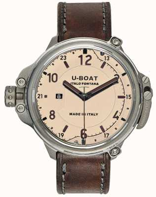 U-Boat 男士胶囊50米色限量版 7470
