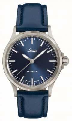 Sinn 556 ib蓝色牛皮表带 556.0104 BLUE COWHIDE STRAP