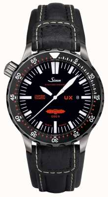 Sinn Ux ezm 2b皮革 403.051 COWHIDE WHITE STITCH