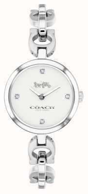Coach 女式标志性链条不锈钢手表 14503077