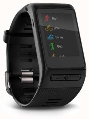 Garmin Vivoactive smartwatch hr black内置心率监测器 010-01605-00