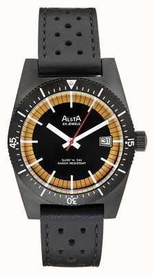 Alsta Surf n ski限量版黑色pvd镀黑色皮革 SURF N SKI