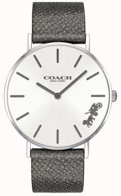 Coach 女式佩里灰色皮表带 14503155