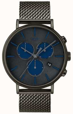 Timex Fairfield超新星计时腕表灰色网眼表带 TW2R98000D7PF