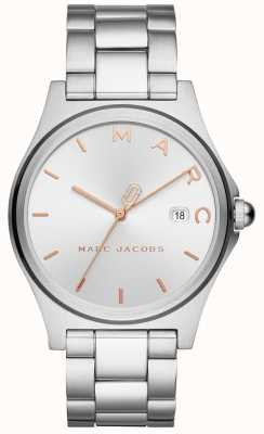 Marc Jacobs 女装亨利手表银色调 MJ3583