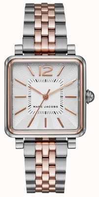 Marc Jacobs 女装vic手表两色方形表盘 MJ3463