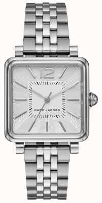 Marc Jacobs 女装vic手表银色方形表盘 MJ3461
