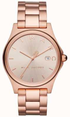 Marc Jacobs 女装亨利手表玫瑰金色调 MJ3585