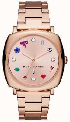 Marc Jacobs 女装曼迪手表玫瑰金色调 MJ3550