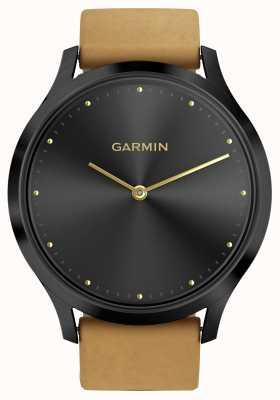 Garmin Vivomove hr活动追踪器棕褐色表带(和硅胶表带) 010-01850-00