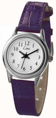 Limit 女式紫色表带白色表盘 6932