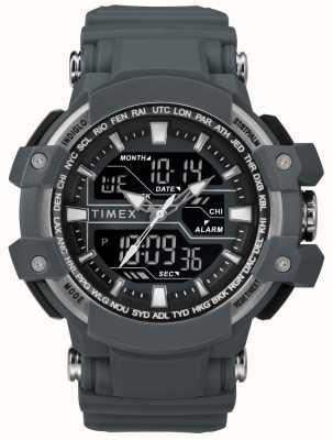 Timex 男士50毫米深灰色表壳深灰色表带 TW5M22600