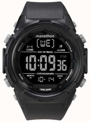 Timex 男士50毫米黑色表壳黑色表带 TW5M22300