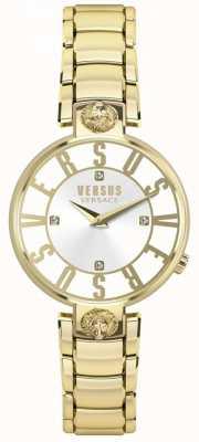Versus Versace 女式kristenhof金色表盘金色pvd手链 SP49060018