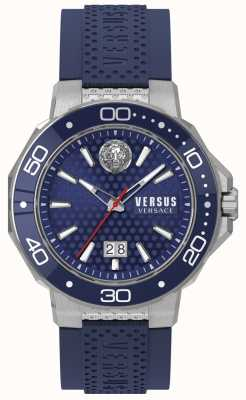 Versus Versace 男士kalk bay不锈钢表链蓝色表盘 VSP05020018