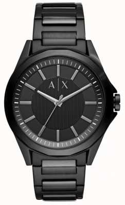 Armani Exchange 男装黑色不锈钢 AX2620