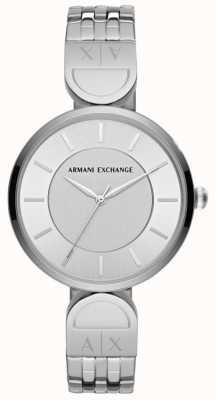 Armani Exchange 女士礼服手表不锈钢 AX5327