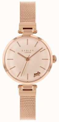 Radley 女士腕表玫瑰金表壳手链 RY4360