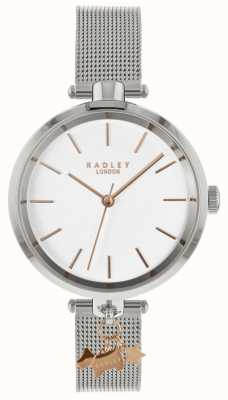 Radley 女士银色手表|不锈钢网带| RY4363