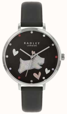 Radley 女士们看黑色墨水表带 RY2679
