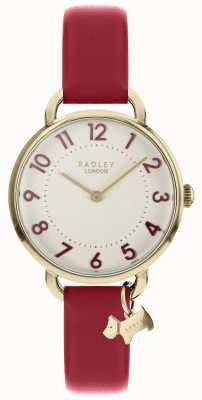 Radley 女士腕表搭配浅金色开口肩带 RY2686