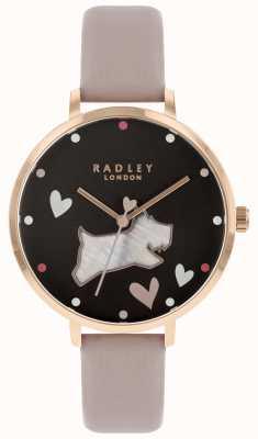 Radley 女士大型珍珠贝母黑色表盘 RY2678