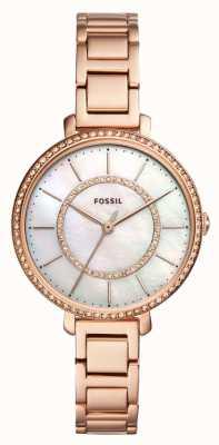 Fossil 化石jocelyn玫瑰金 ES4452