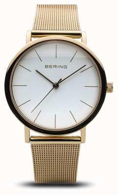 Bering 女士经典手表金网 13436-334