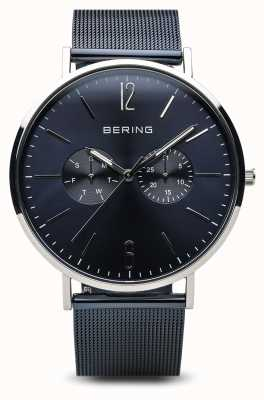 Bering 经典|抛光银| 14240-303