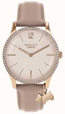 Radley 女装millbank粉色皮革表带 RY2524