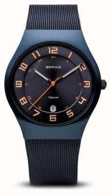 Bering 钛|拉丝蓝 11937-393