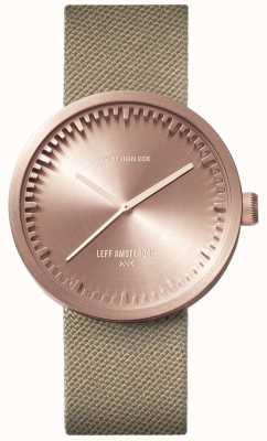 Leff Amsterdam 电子管手表d38 | cordura玫瑰金|沙带 LT71033