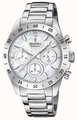 Festina 女式男友计时码表不锈钢手链 F20397/1