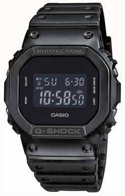Casio 男士g-shock遮光表盘树脂带 DW-5600BB-1ER