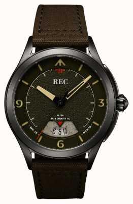 REC | pt879 mk ix spitfire |帆布表带|自动手表| RJM-03