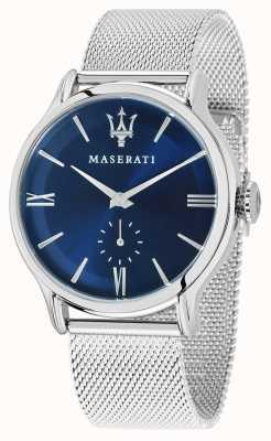 Maserati 男士epoca 42mm |蓝色表盘|银色网状手链 R8853118006